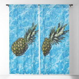Pineapple In The Water Blackout Curtain