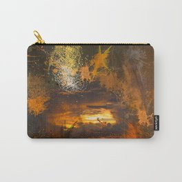 Exploding vibrant sunset Carry-All Pouch