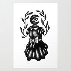 Goddess of the Moon Art Print