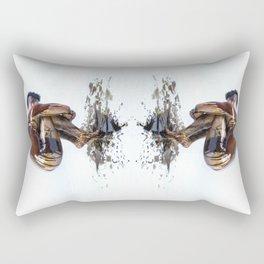 Marble Oil Rectangular Pillow