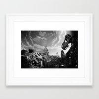 dinosaur Framed Art Prints featuring Dinosaur by Jo Bekah Photography