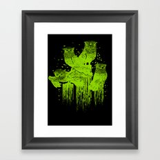 Night Owls Framed Art Print