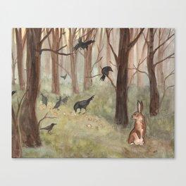 Breadcrumbs Canvas Print