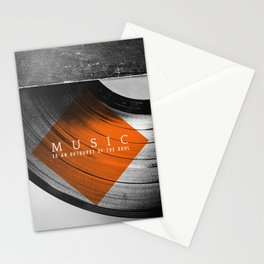 Outburst Stationery Cards