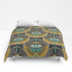 Tribal Evil Eye Pattern Comforters