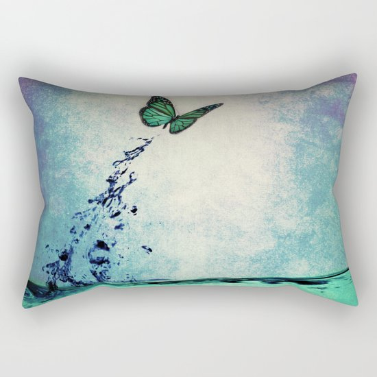 Waterfly Rectangular Pillow