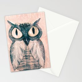 Owl number two Stationery Cards