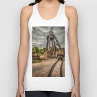 victorian Tank Tops featuring Victorian Mine by Adrian Evans
