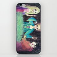hocus pocus iPhone & iPod Skins featuring Sanderson Sisters - Hocus Pocus  by CreepyCuhcakes
