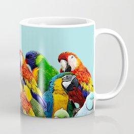 Sky blue parrots home decor Coffee Mug