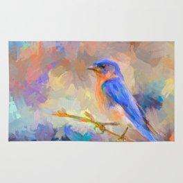 Bring On The Bluebirds Rug