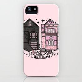 MY 2 MOODS iPhone Case