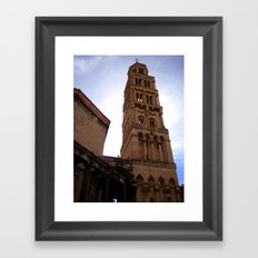 Cathedral in Split, Croatia Framed Art Print