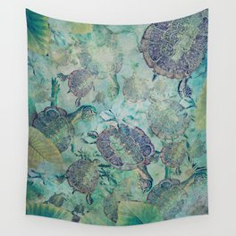 Watery Whimsy Wall Tapestry