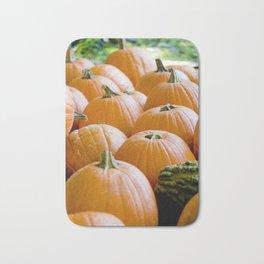Pumpkin Patch Field Bath Mat
