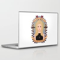 buffy Laptop & iPad Skins featuring Buffy Summers by heymonster