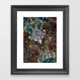 Psychedelic Botanical 13 Framed Art Print