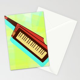 The Magic of the Keytar Stationery Cards