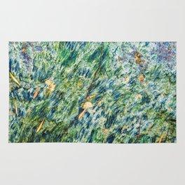 Ocean Life Abstract Rug