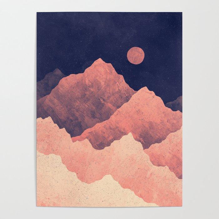 Art Nature • Ephemeral Sunset Moment • Poster