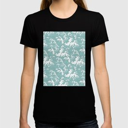 Traditional Hand Drawn Japanese Wave Ink T-shirt