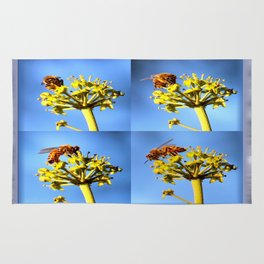 Bee Collage Rug