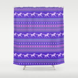 Horse Pattern Shower Curtain