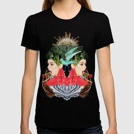 Blue Bird by Lenka Laskoradova T-shirt