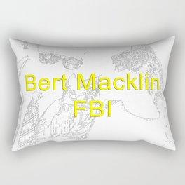 Bert Macklin, FBI Rectangular Pillow