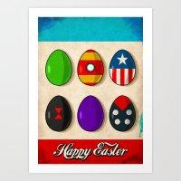 Super Easter Art Print