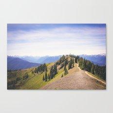 Ridge View Canvas Print