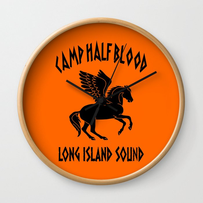 camp half blood Wall Clock