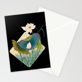lotursflowers D : Minhwa-Korean traditional/folk art Stationery Cards