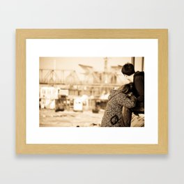 我的梦里 Framed Art Print