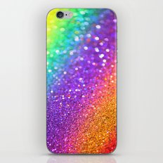 Partytime Rainbow iPhone & iPod Skin
