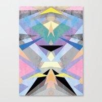 origami Canvas Prints featuring Origami by Marta Olga Klara