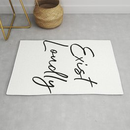 Exist Loudly Rug