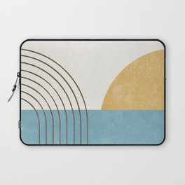Sunny Ocean Horizon Laptop Sleeve