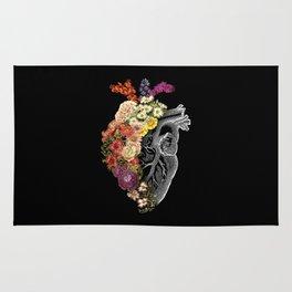 Flower Heart Spring Rug