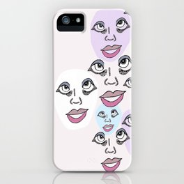 Family Reunion iPhone Case