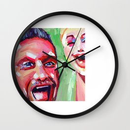 Joe And The Manikin Wall Clock