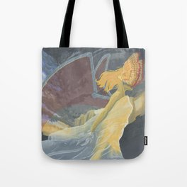 Monster of the Sky Tote Bag