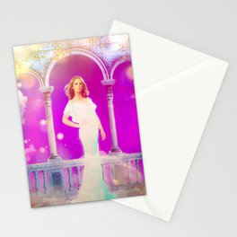 Queen of the Northern Lights Stationery Cards