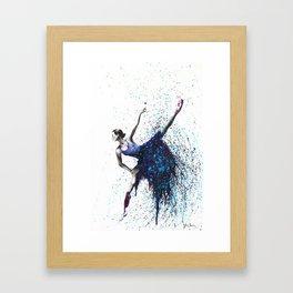 Grapes and Stars Framed Art Print