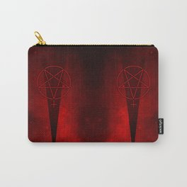 Devil Woman Pentagram Carry-All Pouch