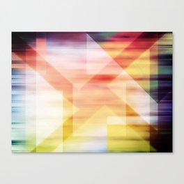 Blurred Lines  Canvas Print