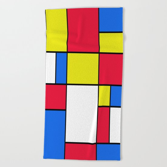 Abstract #402 Beach Towel