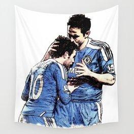 Frank Lampard & Juan Mata (2012) Wall Tapestry