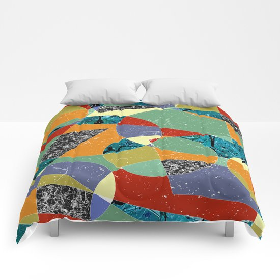 Abstract #100 Comforters