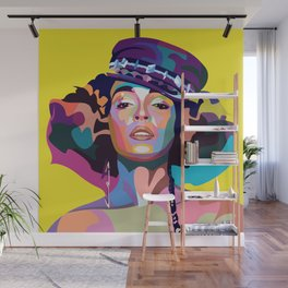 Janelle M Wall Mural